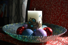 candle and decor